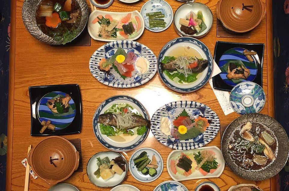 Comida e bebida no Japão