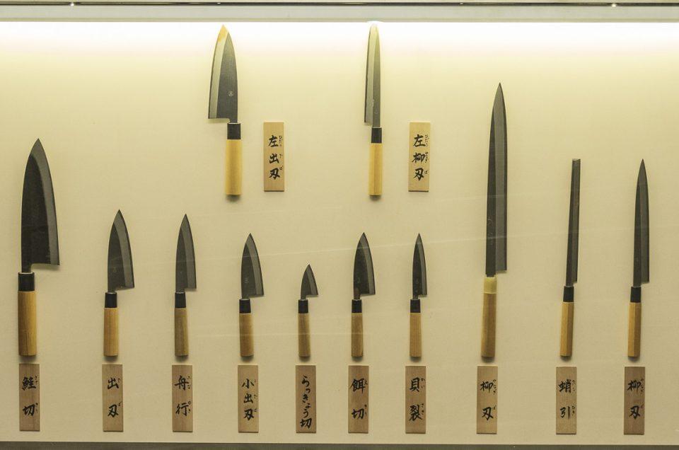 afilado de cuchillos