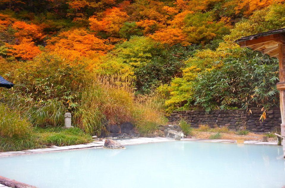 Las mejores fuentes termales de Onsen en Japón