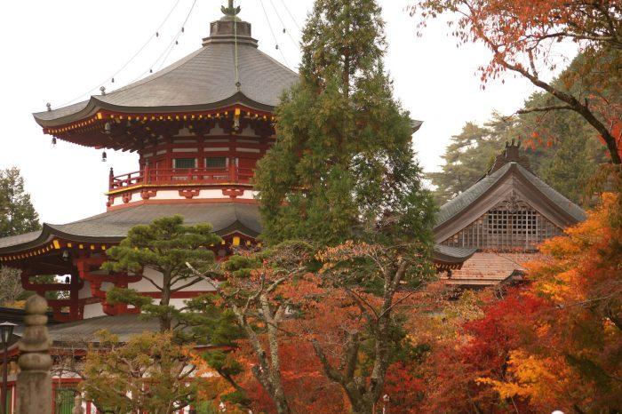 A rota de peregrinação do Japão
