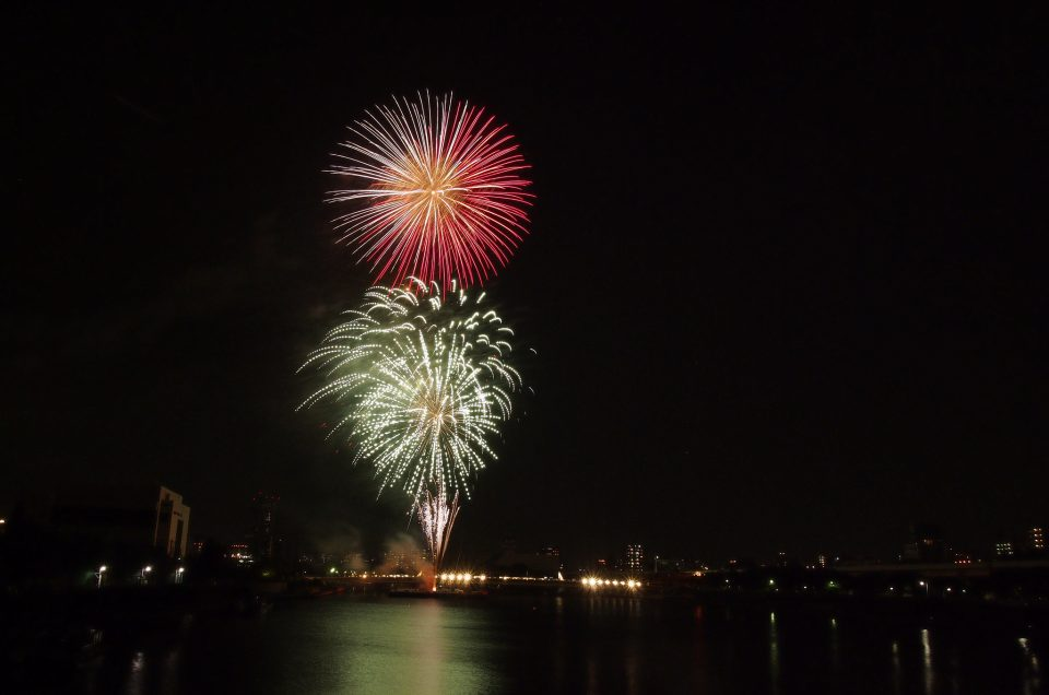 sumida fire works