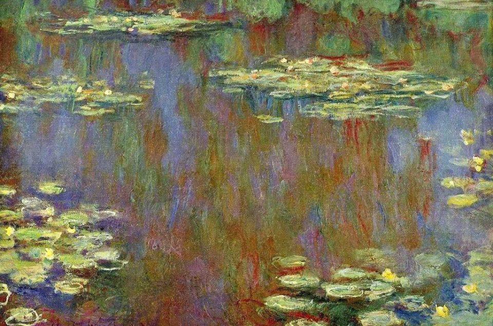 Lírios de água de Monet