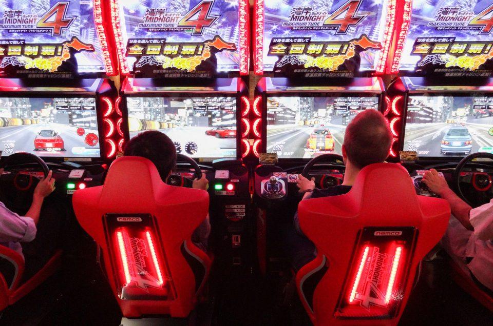 Tour de videogames em Tóquio