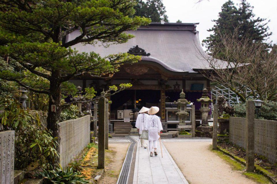 A rota de peregrinação de Shikoku