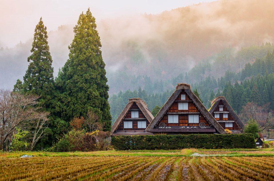Conheça um local natural sensacional na aldeia de Shirakawago (Toyama)