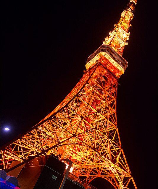 Parque Shiba, e a Torre de Tóquio