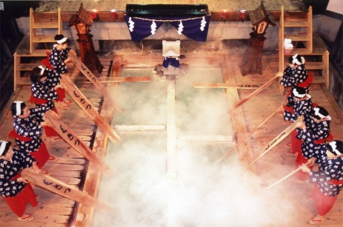 As fontes termais de Kusatsu: um destino popular para os amantes do 'onsen'